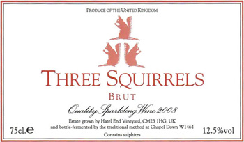 Three Squirrels Label